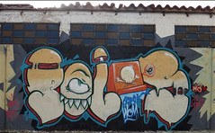 Patillaloca (Poles.) Tags: street colors graffiti montana paint felix venezuela caja gato poles pintura wcm lacajadepol