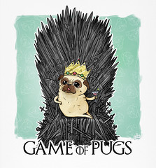 In the game of pugs you win or you die (Shmoonify) Tags: party dog silly cute dogs illustration watercolor painting children sketch high funny comic random turtle drawing digitalart sketching surreal pug story fanart bedtimestories watercolour bedtime doggy pugs stories childrensbook tale tutu digitalwatercolor doglover gameofthrones digitalillustration sketchdrawing puglover ironthrone gameofpugs
