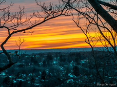 im510060 (bsvingen) Tags: winter sunset usa sun us unitedstates connecticut hamden newhaven sunsetsunrise