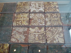 Medieval Tiles (Aidan McRae Thomson) Tags: ceramic cathedral medieval tiles coventry encaustic warwickshire priory ruined