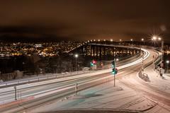Pont (grl_schuss) Tags: longexposure bridge cold norway night norge hiver pont nuit froid polarcircle norvege tromso tromsø troms norvège wonter cerclepolaire