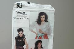 Vogue 2805 (BOMBAZINE *) Tags: pink vintage sew vogue 2805 frill vintagepattern bombazine vogue2805