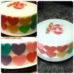Sweet Sixteen cake by Sonya, Jacksonville FL, www.birthdaycakes4free.com