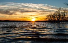 Ebenezer Church Sunset (cwhitted) Tags: sunset canon eos chathamcounty jordanlake canoneos400d canoneosdigitalrebelxti canonef28135mmisusm ebenezerchurchrecreationarea beverettjordanlake