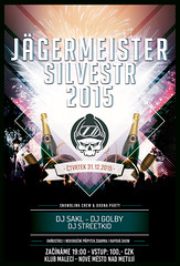 JGERMEISTER SILVESTER 2015 (skunkgraphics) Tags: show party photoshop design flyer graphics silvester jgermeister 2015 skunkgraphics