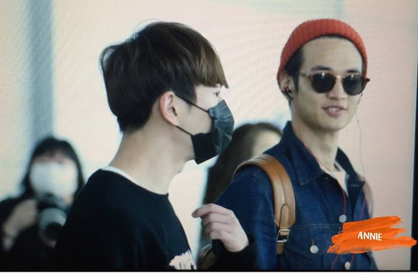 160328 SHINee @ Aeropuertos de Incheon y Shanghai {Rumbo a China} 25497291484_bf2c287b58_z