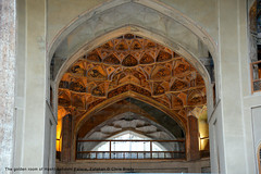 The golden room of Hasht Behesht Palace, Esfahan (Chris Brady 737) Tags: iran palace esfahan isfahan hasht behesht