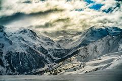 (marekkaczkowski) Tags: snow mountains alps switzerland dam freeride verbier veysonnaz lenstagger