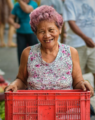 A smile with a story (FotoGrazio) Tags: poverty old portrait people woman art texture senior hairdye smile composition asian happy photography eyes photoshoot philippines poor streetphotography streetportrait happiness toothdecay streetscene elderly portraiture filipina moment photographicart capture pinkhair laoag streetmarket digitalphotography wrinkled missingteeth haircoloring sandiegophotographer artofphotography flickrelite californiaphotographer internationalphotographers worldphotographer photographersinsandiego fotograzio photographersincalifornia waynegrazio waynesgrazio