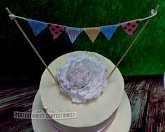 Kate - Peony Christening Cake (PerfectionistConfectionist) Tags: christeningcake noveltycake celebrationcake bespokecake namingdaycake cakesdublin cakesswords cakemalahide