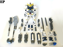 Gundam Barbatos [All Parts] (ExclusivelyPlastic) Tags: mobile japan japanese robot lego orphans suit gundam mecha mech barbatos ironblooded