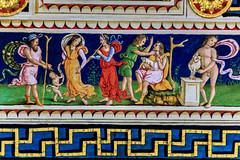 The Piccolomini Library, Siena (Arutemu) Tags: italy canon lowlight europe italia zoom eu it medieval tuscany siena duomo toscana tamron renaissance 6d 28300   tamron28300 piccolominilibrary  eos6d