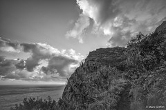 The Napali Coast (Mark Griffith) Tags: hawaii hiking hike northshore kauai napalicoast dayhike kalalautrail dawnpatrol 20160414dsc04244edit