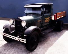 1929 Model AA Ford Delivery Truck (JFGryphon) Tags: windshield sanibelisland windscreen fordtruck sunvisor mudguards rainhood fordmodelaa fordstakebed manualwiper baileyssupermarket 1929modelaa wiperlesswindscreen