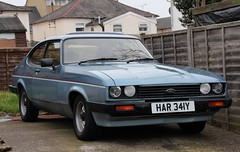 HAR 341Y (Nivek.Old.Gold) Tags: auto ford capri 16 1983 cabaret mk3