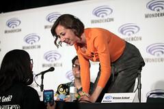 Kristen Schaal (Gage Skidmore) Tags: california dan swim john los adult angeles bob center burgers larry fox convention kristen roberts loren murphy bobs wondercon 2016 schaal bouchard mintz