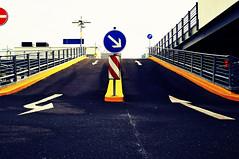 DriveWay   Sven Lbbert (svenlbbert) Tags: street city schilder germany deutschland colorful traffic stadt farbe verkehr ruhrgebiet strase stadtessen