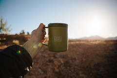 morning salutations (meeganz) Tags: morning sun coffee hand flare mug youarebeautiful