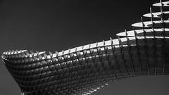 Metropol Parasol (andbog) Tags: blackandwhite bw panorama espaa abstract building monochrome architecture sevilla spain widescreen sony edificio seville andalucia bn espana es alpha sonya andalusia sel 169 architettura biancoenero spagna csc oss 16x9 siviglia ilce sonyalpha mirrorless metropolparasol 1650mm a6000 sony lassetas emount selp1650 sonyalpha6000 ilce6000 sonya6000 sonyilce6000 sony6000 6000