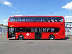 GAL EH60 - YX16OCS - NS - BV BELVEDERE BUS GARAGE - THUR 28TH APR 2016 (Bexleybus) Tags: new bus london buses ahead garage go 400 belvedere dennis hybrid mmc bv enviro etb adl goahead eh60 yx16ocs