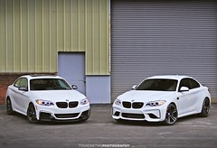 M235i and M2 {EXPLORE} (FourOneTwo Photography) Tags: auto car exotic bmwm2 bmwm235i fouronetwophotography