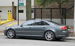 Audi S8 (D3) (RudeDude2140a) Tags: sports car sedan grey exotic audi d3 s8