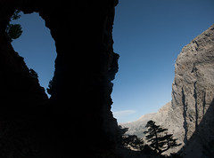 Arch Panorama (alon_gutf) Tags: mountains nature landscape island arch greece crete rockformation