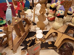 Crafts (Anita Filippova) Tags: school kids crafts snowmen