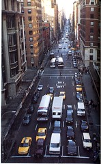 Lexington Ave Uptown View (Hunter College Archives) Tags: bridge view traffic yearbook uptown hunter 1995 lexingtonave huntercollege wistarion thewistarion
