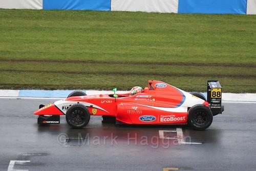 Jack Martin during the British Formula Four during the BTCC Donington Weekend: 16th April 2016