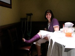 4777219611_b545797a97_joanne (cb_777a) Tags: broken foot toes leg cast crutches ankle