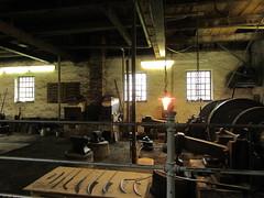 Scythe Blacksmith #3 (sugob05) Tags: museum canon open air blacksmith forge freilichtmuseum hagen crafting schmiede handwerk sense sauerland scythe sensenschmied 610hs