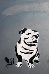 Stencil Art (tom_t.photography) Tags: graffiti cheshire bulldog stencilart mersey widnes halton sankeycanal