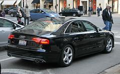Audi S8 (D4) (RudeDude2140a) Tags: black sports car sedan exotic audi d4 s8