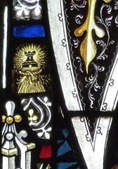Retford - St Swithun's - Kempe Glass (Glass Angel) Tags: tower stainedglass warmemorial nottinghamshire signed retford kempe stswithun wheatsheaftower