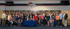Broncos-0252 (jdquintiii) Tags: colorado denver denverbroncos alumnievent hillsdalecollege milehighcity sportsauthorityfield hillsdalecollegealumnievent