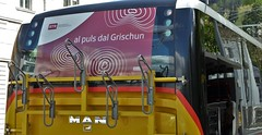 al puls dal Grischun (micky the pixel) Tags: man bus radio poster schweiz switzerland tv suisse chur plakat sender graubnden grischuna postbus rtr radiotelevisiun svizrarumantscha
