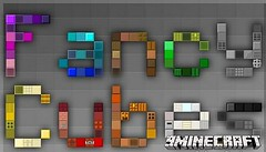 Fancy Cubes Resource Pack 1.9.2/1.9/1.8.9 (KimNanNan) Tags: game video 3d games online minecraft