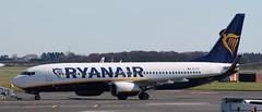Boeing 737: 44703 EI-FIT 737-8AS(WL) Ryanair Newcastle Airport (emdjt42) Tags: boeing ryanair 737 newcastleairport boeing737 44703 eifit