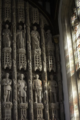 Light on the Reredos (Lawrence OP) Tags: light college window saints statues kings oxford apostles allsouls reredos