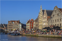 Gent - 03101121 (Klaus Kehrls) Tags: gent belgien kanle fleete achitektur