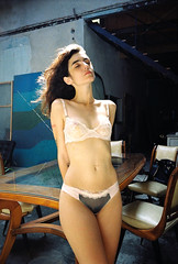 Quiet life (Hef Prentice) Tags: light portrait color film girl 35mm natural hefprentice