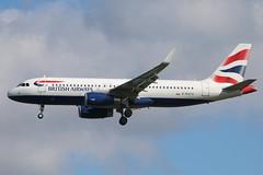 British Airways - Airbus A320-232/S G-EUYU @ London Heathrow (Shaun Grist) Tags: london airport heathrow aircraft aviation airline airbus ba britishairways aeroplanes lhr a320 londonheathrow egll avgeek geuyu