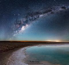 Night of Dreams (vglima1975) Tags: longexposure nightphotography nature landscape lagoon atacama sanpedrodeatacama milkyway atacamadesert lagunasbaltinache