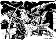 MAD MAX FURY DRAW - Giuseppe Palumbo (Sugarpulp) Tags: comics tribute fumetti madmax illustrazione sugarcon sugarpulp sugarpulpconvention