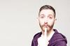 (Damien Cox) Tags: uk gay portrait selfportrait man male me face self ego myself beard eyes nikon hand purple masculine finger ears moi hoody autorretrato scruff stubble i damiencox damiencoxcouk