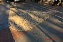 Marca en Plaza Platerías Martínez del Convento de los Trinitarios Descalzos. Madrid (Carlos Viñas-Valle) Tags: plaza convento martinez platerias trinitarios trinitariosdescalzos