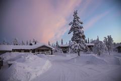 Saariselk. (seppojrantala) Tags: finland talvi saariselk mkki kosatus