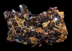 Wulfenite (No. 4187-06152014) (geraldarmstrong48) Tags: mineralcollection mineral minerals specimen specimens stone stones rock rocks mineralogy geology earthscience crystal nature wulfenite