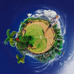 Ang Aking Mundo Sa Mayon - Panoramic HDR By: Pipoyjohn - Albay Philippines (Pipoyjohn) Tags: panorama photography little philippines panoramic planet mayon hdr legazpi albay ghie hdrworkshop pipoyjohn